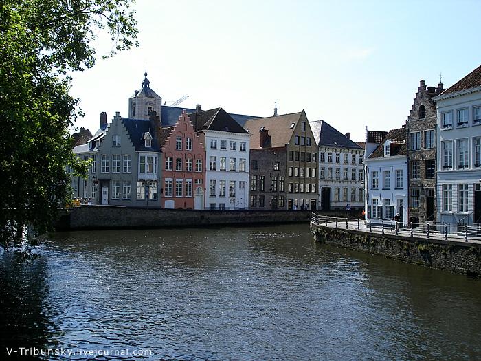 Залечь на дно в Брюгге в собственном домике