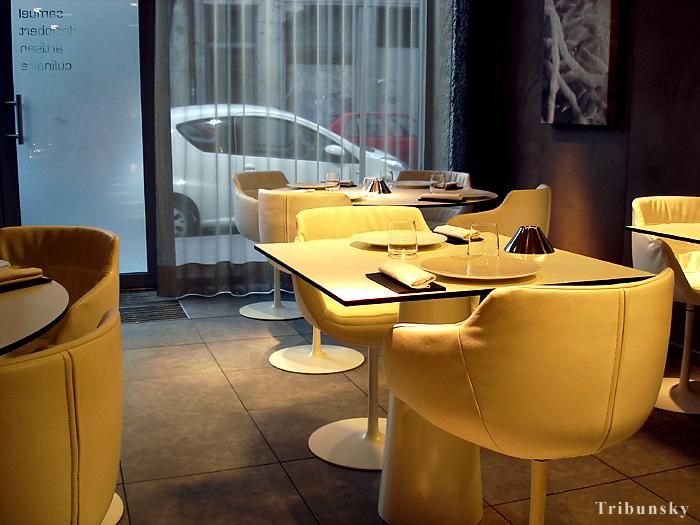 Наш ужин в мишленовском ресторане Eskis в Лионе